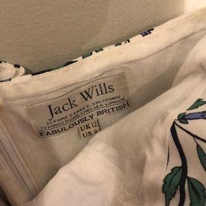 Jack Wills Dresses - Jack Wills floral strapless dress